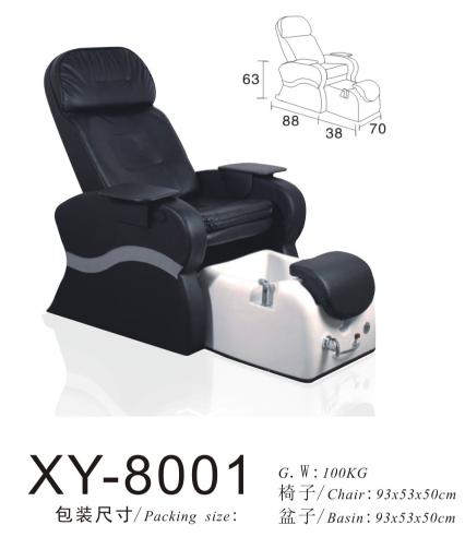 Salon Spa Pedicure Chair Foot Massage XY-8001