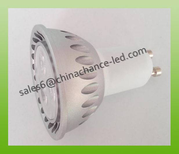 osram 3w GU10 spotlight high lumen 100lm/w dimmable GU10 spotlight