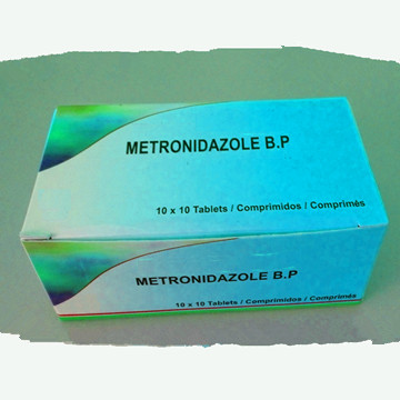 Metronidazole Tablet GMP Antibiotics drugs