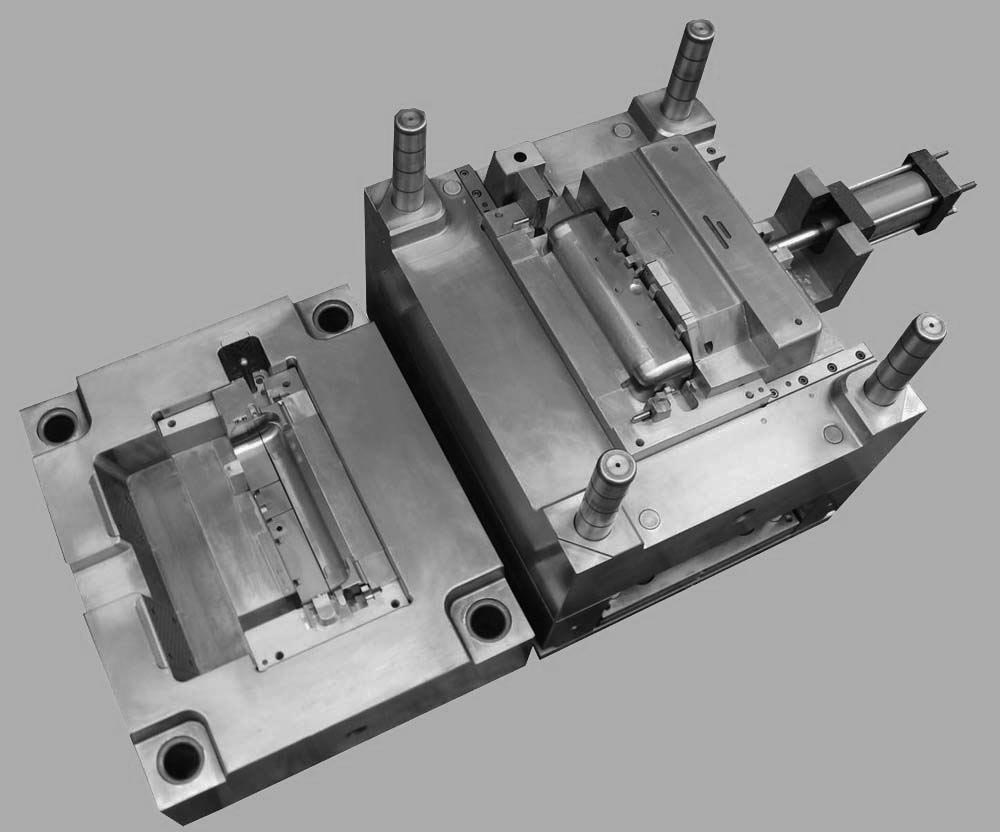 High Speed CNC Metal Precision Injection Mould Ra 0.1 Surface Roughness