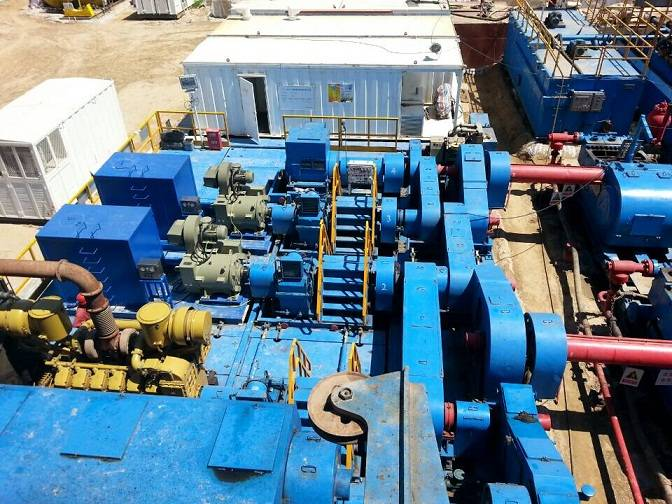 """""""Replacing Fuel by Electricity"""" VFD Equipments for Semi-Electric and Mechanical Drilling Rigs"""