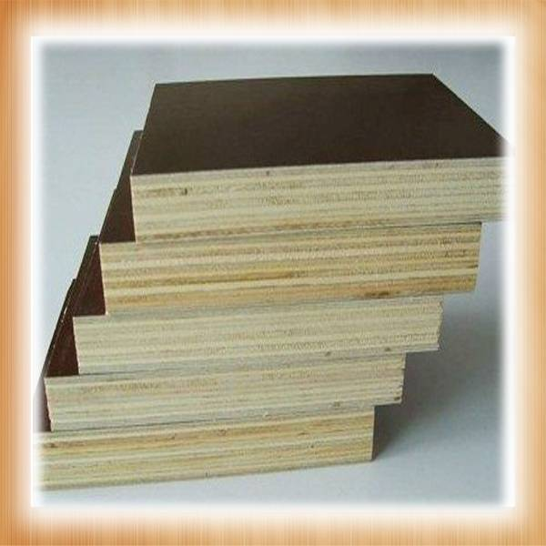 giga 18mm black veneer core hardwood/poplar plywood