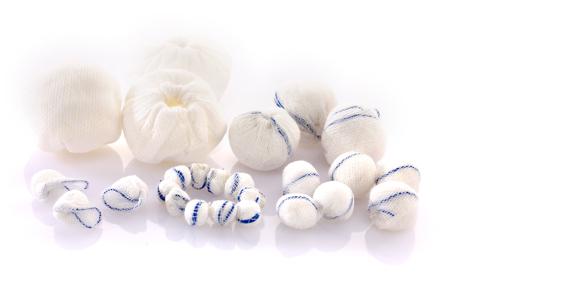 medical gauze ball