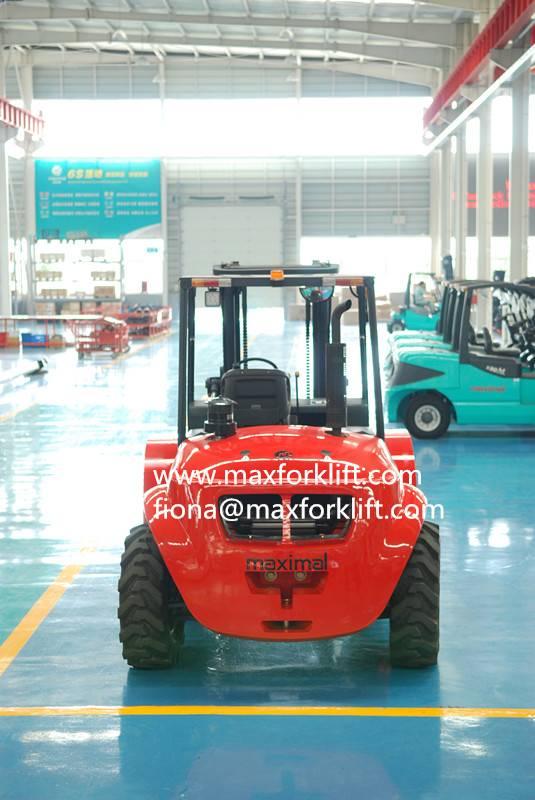 Maximal 2WD 3.5ton rough terrain forklift