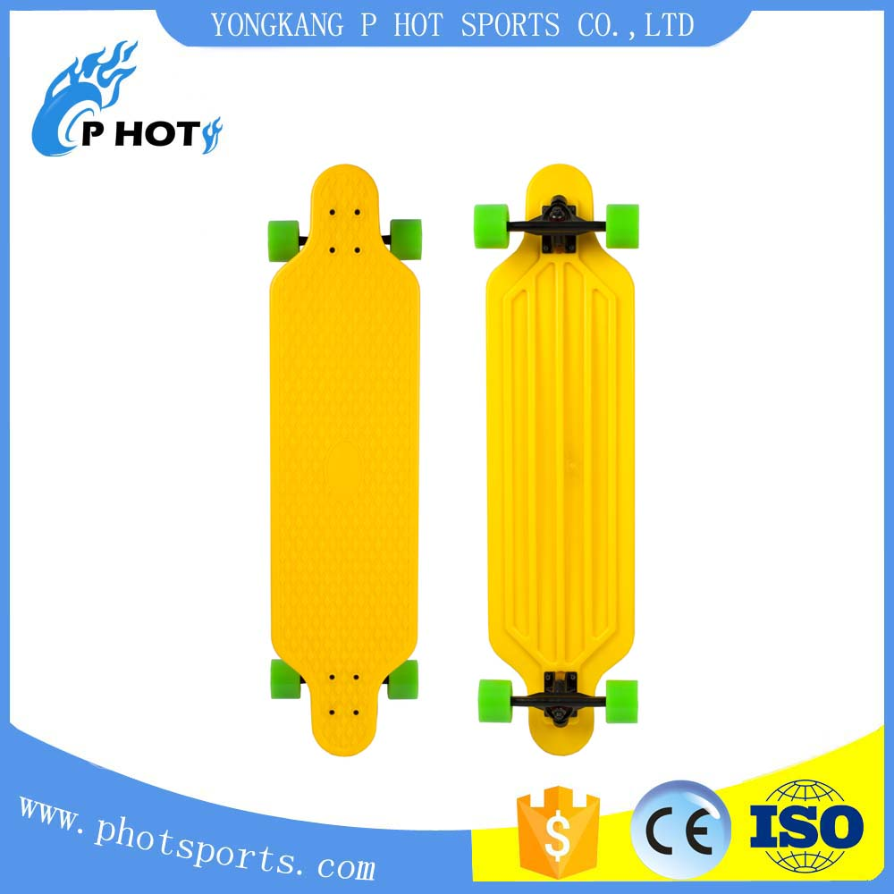 33 inch plastic PP fish board skate board mini logo skateboard decks