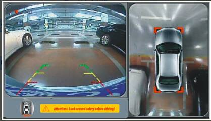 Universal type Car bird-view camera system for all vehicles