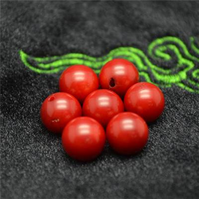 Red Sed Bamboo Coral Beads