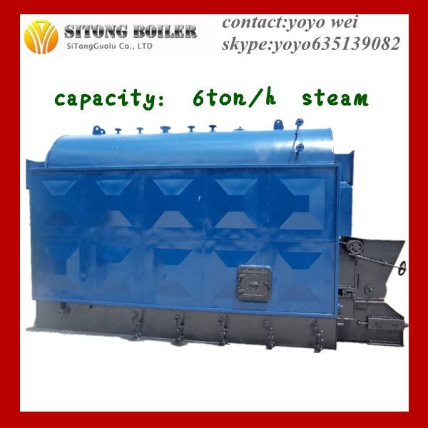 Wood/Pellet/Chips/Straw/Biomass Steam Boilers