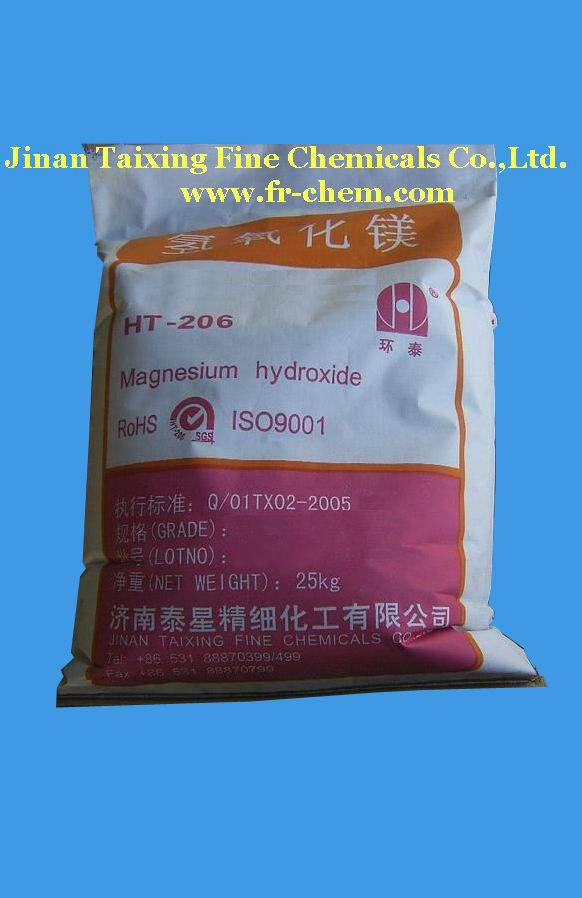 Precipitate high purity magnesium hydroxide