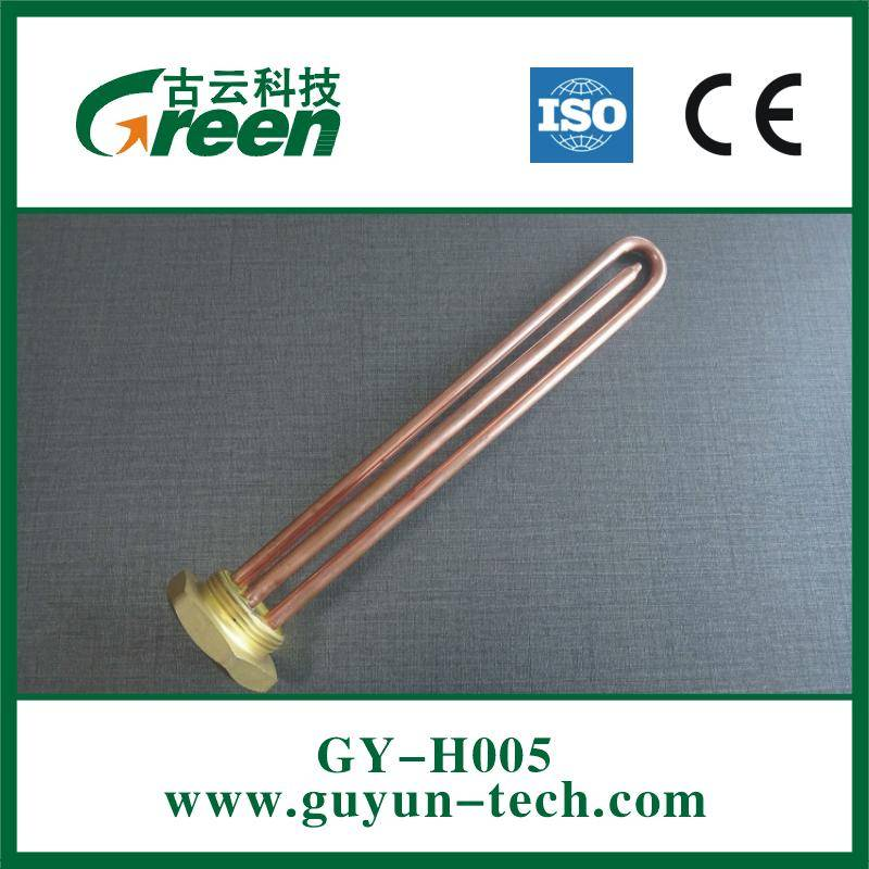 GY-H005 Electric Straight Copper Heating Element for Water Heater