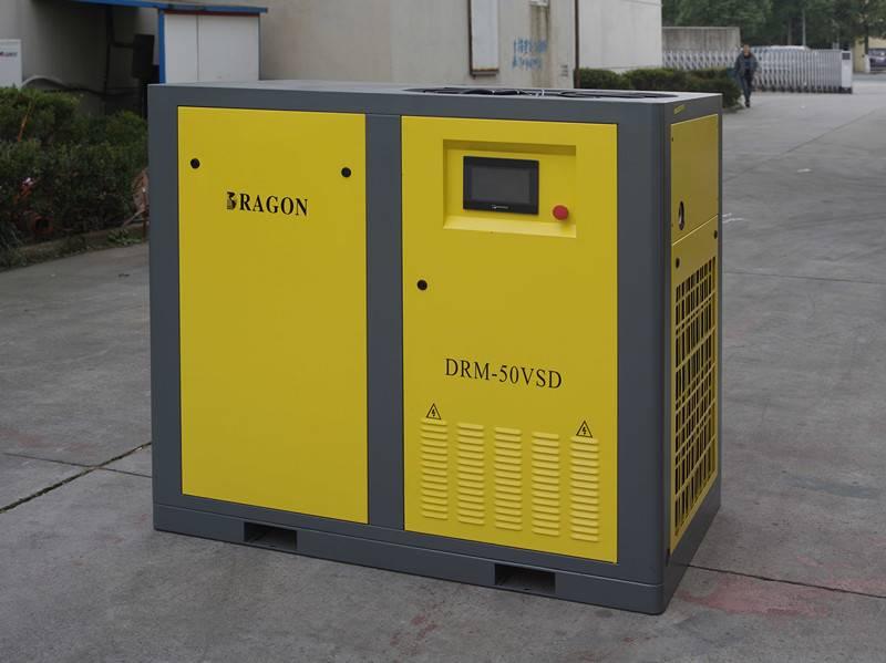 Dragon permanent magnet screw air compressor 22kw