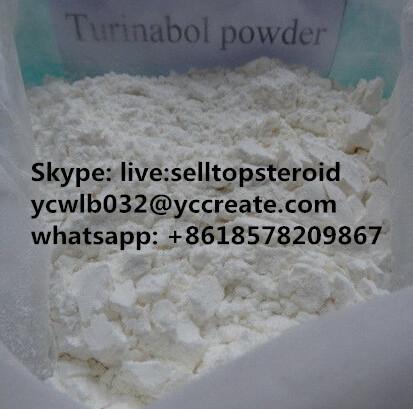 Oral Turinabol/ 4-Chlorodehydromethyltestosterone Muscle Growth Building