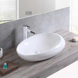 Bathroom ceramic special table new art sink for sale