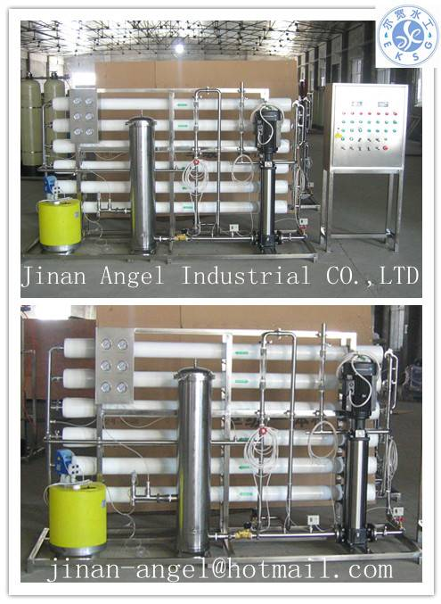 3T stainless steel full automatic RO water treatment equipment for drinking water