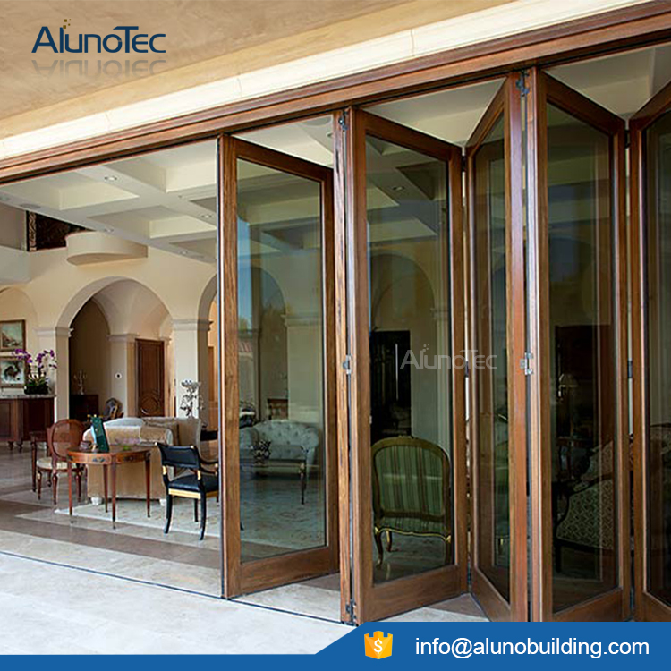 High quality interior bifold doors aluminum bifold door veranda bifold doors