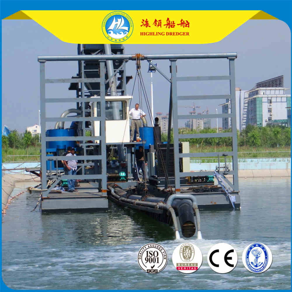 HL-J300 Jet Suction Dredger, 13m Depth and 300m³/h Capacity