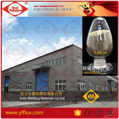 Matched EH14 Agglomerated Welding Flux Powder for Low Carbon Steel