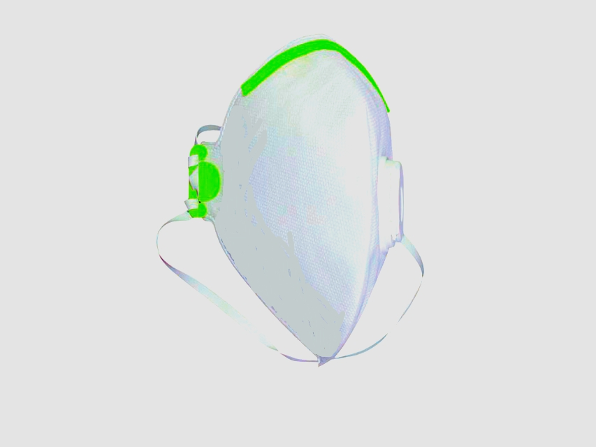 Respiratory mask with valve ( FFP1 protection )