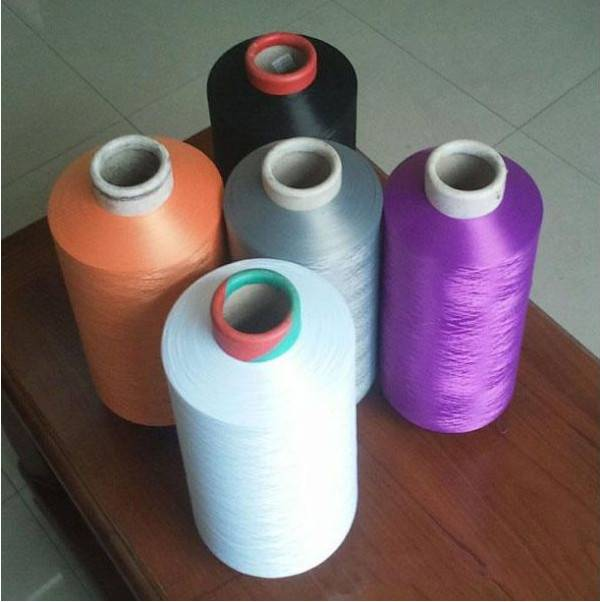 China suppliers 100D Polyester FDY Yarn Dope Dyed Polyester Yarn for Hand Knitting