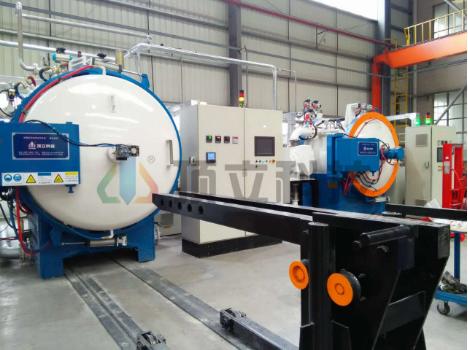 Horizontal Single Chamber Vacuum High Pressure Gas Quenching Furnace
