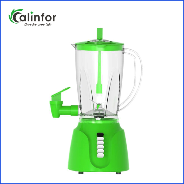 Calinfor new arrival good quality fashionable portable blender with water tap