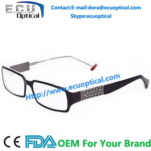 Acetate eyeglasses frames high quality optical frame MOQ 300pcs meet CE/FDA BRP4020