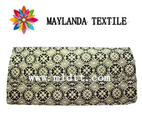 Maylanda Textile 2015 Factory for Garments, New Style Color Yarn Jacquard Fabrics with Metallic Yarn