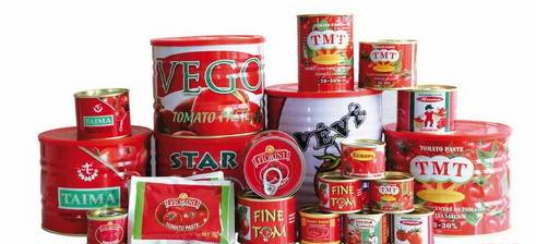 70G-4500G China Hot Sell Canned tomato paste