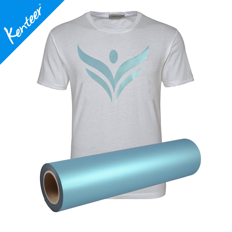 50cm25m size one roll pack pearl effect heat transfer vinyl for T-shirts