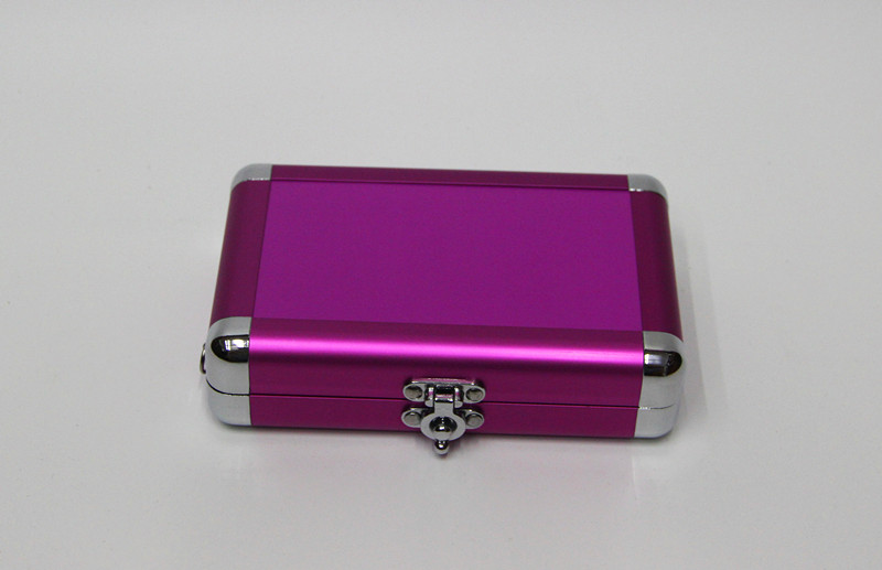 Anodize Pink Small Aluminum Paking Case for tools