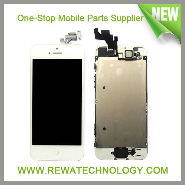 Hot Sell Mobile Phone Parts for  iPhone 5 LCD Display and Touch Screen Digitizer Assembly