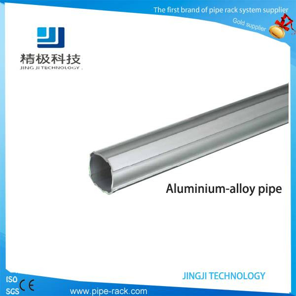 6063-T5 Dia 28mm Aluminum alloy pipe for Racking System
