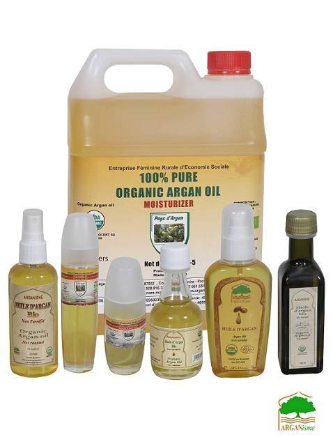 Cosmetic pure argan oil