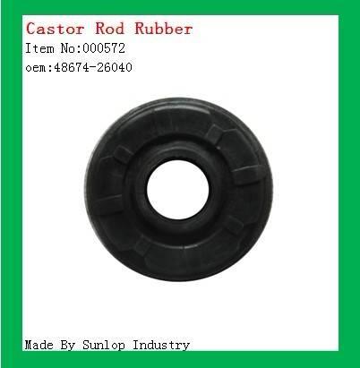 Toyota hiace Castor rod rubber , new hiace parts OEM:48674-26040 toyota car spare parts hiace commut