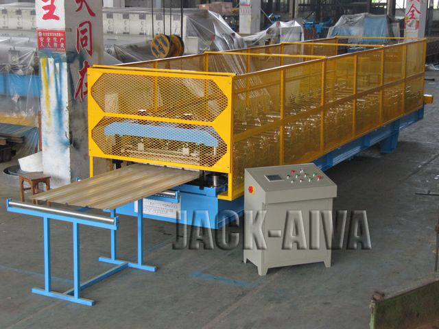 Roofing sheet machinery