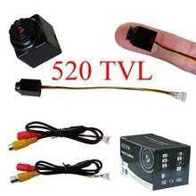 520TVL mini cmos video cctv camera wtih audio