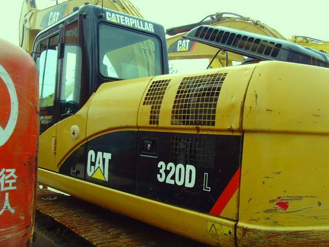 Used Caterpillar320d Excavator