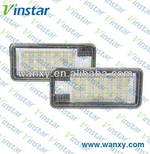 Q7 A3 A4 A6 canbus license plate lamp