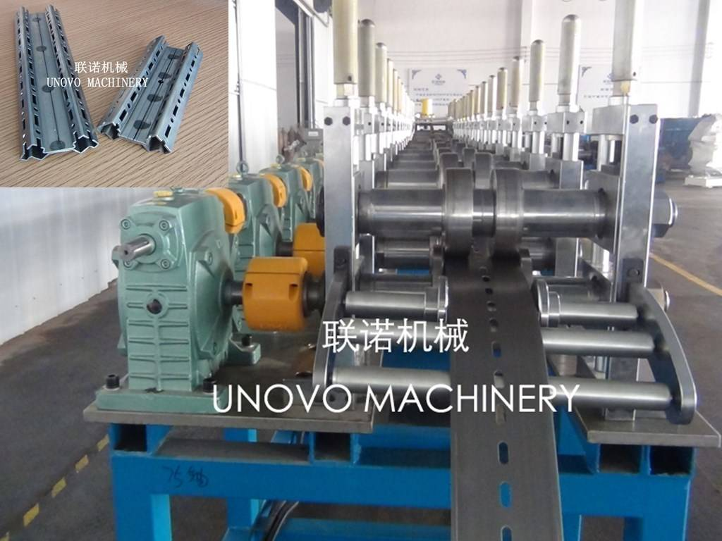 electrical cabinet rack 16 fold roll forming machine