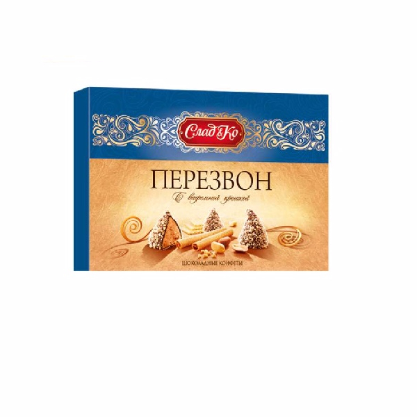 """Chime"" wafer crumbs Russia chocolate box"