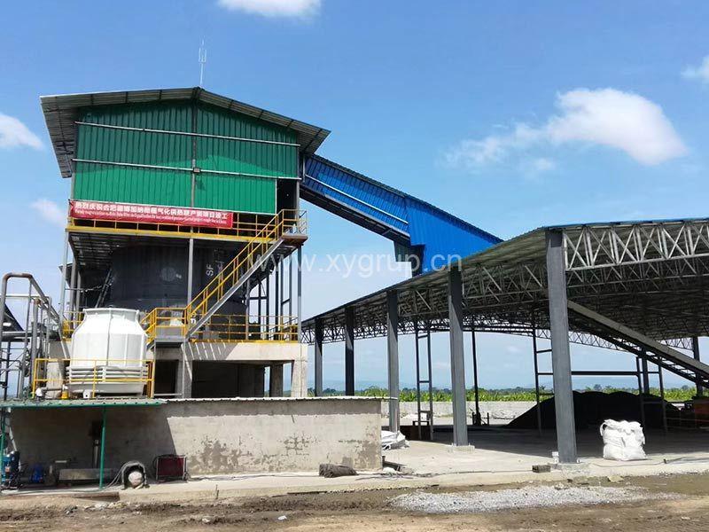 Wood carbonization furnace machine activated carbon production line