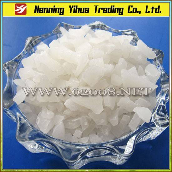 Aluminum Sulfate Flake 16% for Drinking Water Treatment
