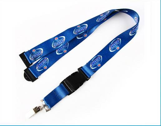 Dye Sublimation Lanyards with Metal Clip