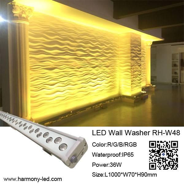 High Power IP65 Wall Decorative LED Light Bar