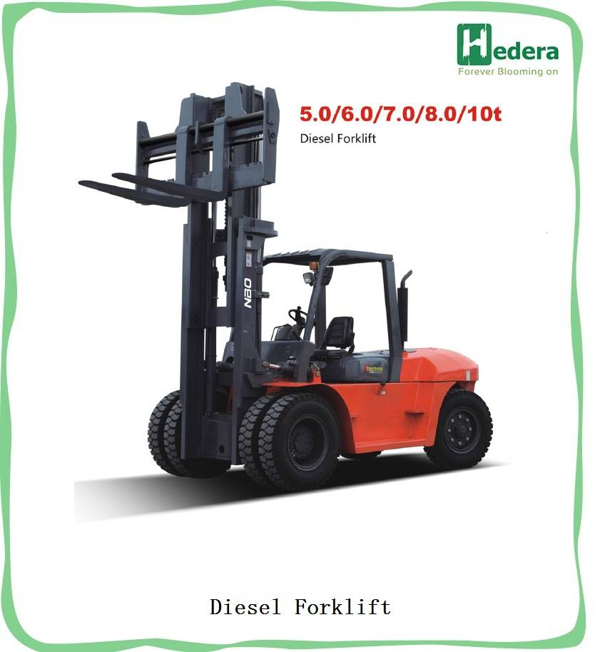 5-10ton load capatity diesel forklift truck