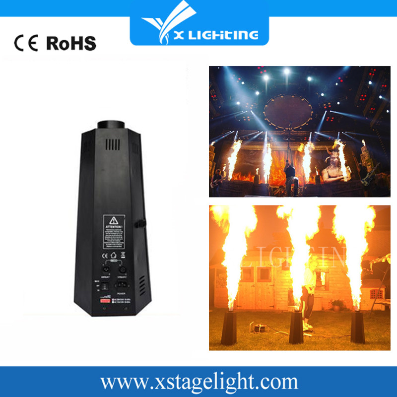 DMX Fire Machine Fireworks Projector Stage Effect Color Fire Machine