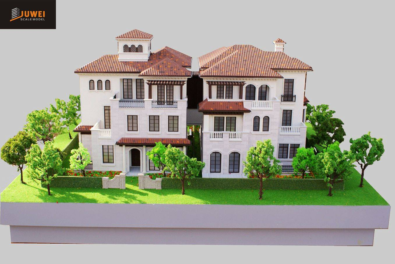1:50 Scale Architectural Model of Villa