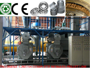 Wood Pellet Manufacturing Line,Complete Biomass Pelleting Line