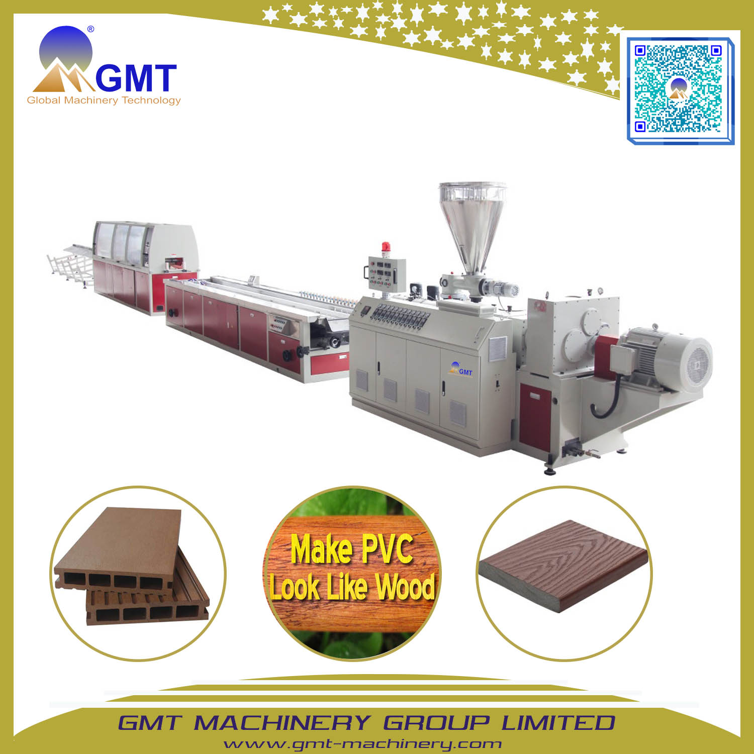 Plasitc WPC PVC Wide Window Door Frame Profile Extrusion Making Machine