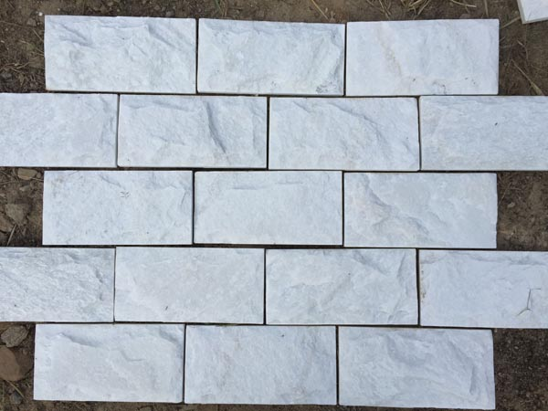 white mushroom stone for exterior wall cladding decoration